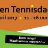 Foto's Open tennisdag 2017 ! ! !