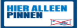 Alleen PIN of KNLTB-pas